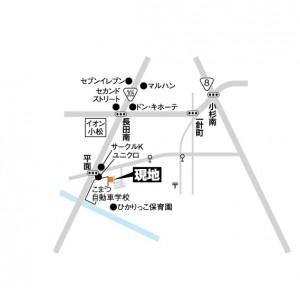 富商/平面地図