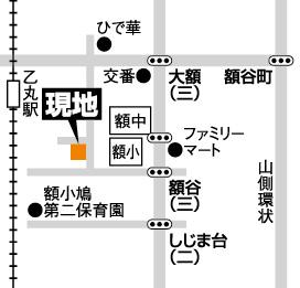 富商%uFF0F額乙丸地図