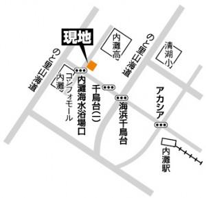 富商/千鳥台地図