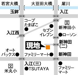 富商/入江地図