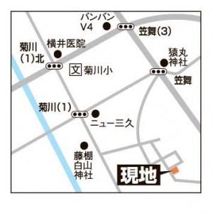 笠舞本町二丁目地図