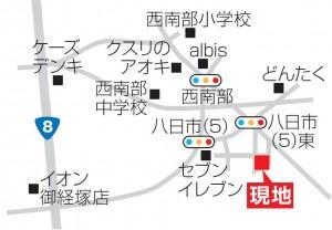 富商不動産様_西金沢MAP