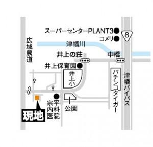 富商/井上の荘地図