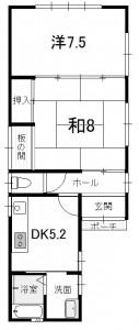 寺町3丁目増築後図面