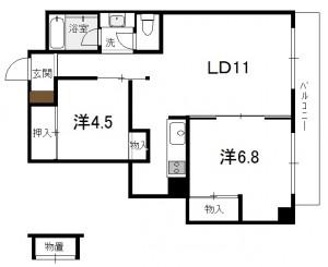 幸町ハイム502号室