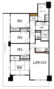 ダイアパレスクレスト富樫311号室