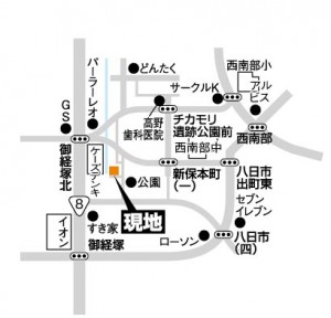 富商/新保本地図