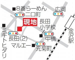 朝日プラザフローラル駅西地図