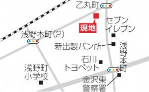 浅野本町地図