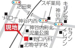 神谷内地図