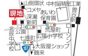深瀬新町地図