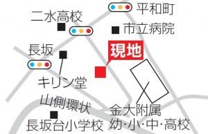 長坂ネスル地図