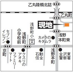 乙丸町地図