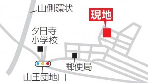 山王1丁目地図