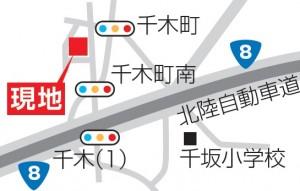 千木町地図